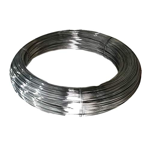 QFDM Spring Rollo de Alambre de Resorte de Acero Inoxidable para resortes de extensión de torsión de compresión, Cable (1-4) mm * (10-50) m de Largo Easy to Install (Length : 2mmx20m Length)