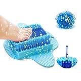 Best Foot Scrubbers - Foot Scrubber | Foot Brush Bristles Deep Clean Review