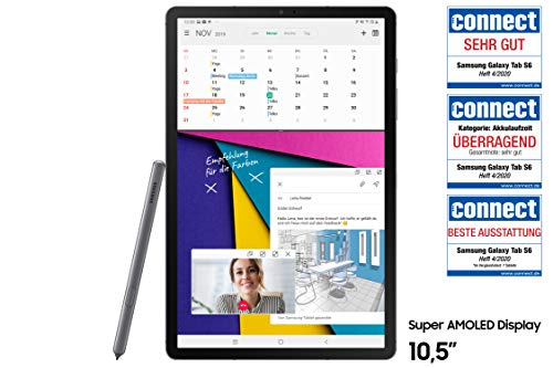 Samsung Galaxy Tab S6 T865 (10.5 Zoll) LTE, mountain grey