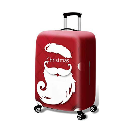 BBOOXX Luggage cover Suitcase Covers Trolley Luggage Protective Case Personality Christmas Print Boy Girl Pattern Travel Baggage Dust cover C-M(22-24 Inch)