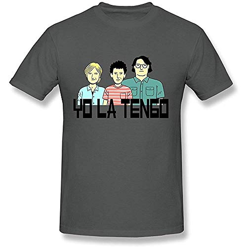NR Men's Yo La Tengo The Band T-Shirt Gray