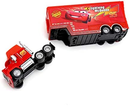 Pixar Cars 2 3 Toy Lightning McQueen Jackson Storm Mack UncleTruck Koning 1:55 Diecast Metal Car Toy Kinderen Verjaardagscadeau (Color : 08) King Uncle
