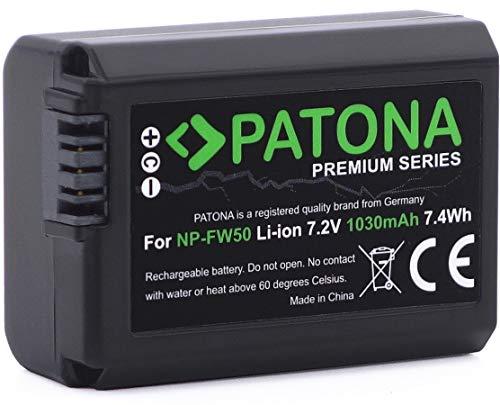 Bater/ía//Pila Recargable 1030 mAh, 7,4 WH, I/ón de Litio, 7,2 V, Negro, 1 Pieza s PATONA 1248 Iones de Litio 1030mAh 7.2V bater/ía Recargable