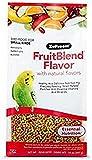 ZuPreem Alimento para Aves Multifrutas Natural (400 g). Pienso para Pájaros Canarios, Pinzones, Pericos Cotorras con Vitaminas y Minerales. Comida Balanceada para Aves Pequeñas de Fácil Digestión.