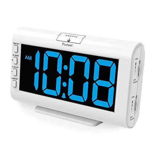 Plumeet Digital Alarm Clocks, 5.3