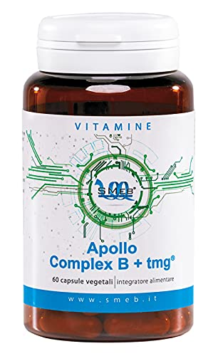 APOLLO COMPLEX B + TMG   Complesso Vitamine del gruppo B con l'aggiunta di trimetilglicina,colina e inositolo