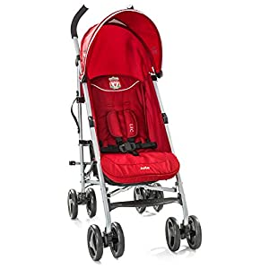 Joie Nitro LFC Umbrella Pushchair/Stroller, Red Crest   13