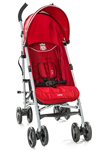 Joie Nitro LFC Umbrella Pushchair/Stroller, Red Crest Joie Sleek and lightweight umbrella chassis weighing just 7.52kg Suitable from birth with flat reclining seat SoftTouch, 5-point harness with shoulder covers 1