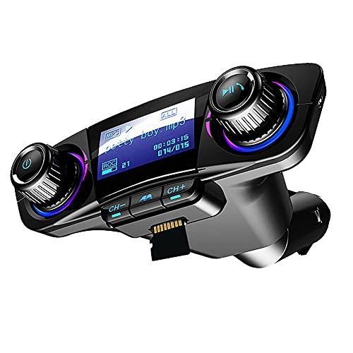 LVYE1 MRMF Carro Reproductor De Mp3 Multifunción Receptor Bluetooth U Disco Cargador De Coche Encendedor De Coche