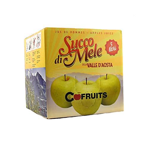 Succo di mela Renetta + Golden in BOX lt 5 Valle d'Aosta