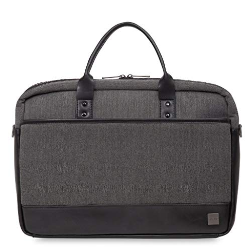 Knomo 43-201-BKG Holborn Princeton Laptop Toploader 39,6 cm (15,6 Zoll) schwarz/grau