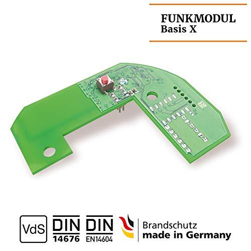 Hekatron 31-5200001-11-02 Funkmodul Basis X für Genius Plus X Rauchmelder – 1 Stück