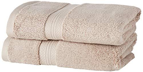 Pinzon Pima katoenen handdoekenset (2 handdoeken) - khaki