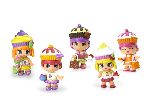 Pinypon Cupcake Cuties Doll Playset (5-Pack)
