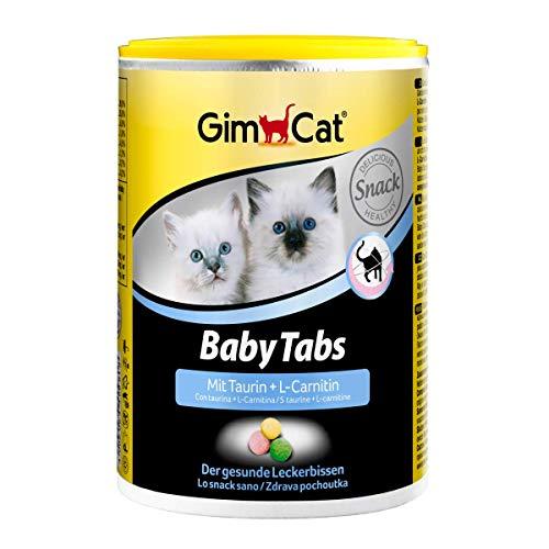GimCat Baby Tabs - Funktionale Leckerli mit Taurin und L-Carnitin für junge Katzen ab der 6. Woche