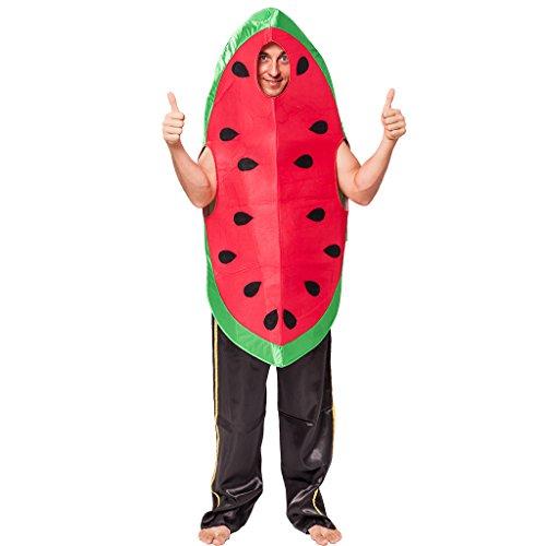 EraSpooky Men's Halloween Watermelon Costumes, OneSize