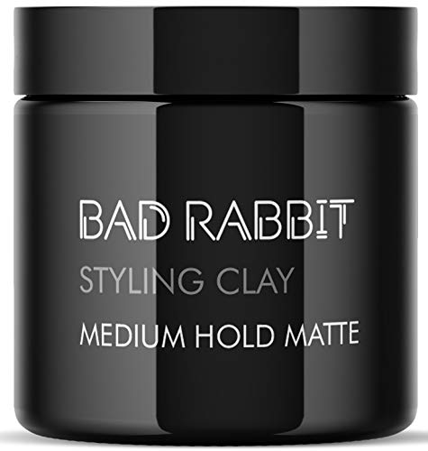 Hair clay pomade 3.5OZ- clay hair for men Textured Medium to soft hold - Natural Look - Hair wax paste Ultra Lightweight - Best Men's Styling Product Barber Approved - MATTE Finish