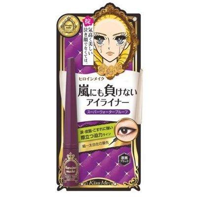 Isehan - Kiss Me heroine make | Fake Eyelash | Impact Liquid Eye Liner 01 Jet Black 2.5g @