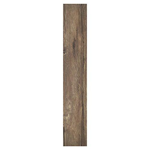 Achim Home Furnishings Achig VFP1.2SD10 Nexus 1.2Mm Vinyl Floor Planks, 6 Inches x 36 Inches, Saddle