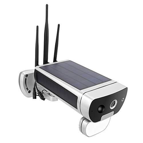 Cámara IP Solar, cámara Solar al Aire Libre de la Red WiFi al Aire Libre para el Patio del Garaje