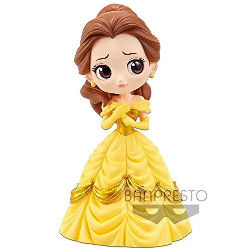 Banpresto - Figurine Disney - Belle Classic Color Q Posket 14cm - 3296580855001