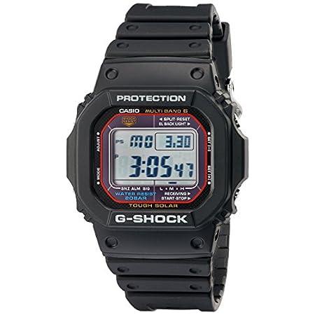 Casio watches Casio Men's G-SHOCK Quartz Watch with Resin Strap, Black, 20 (Model: GWM5610-1)
