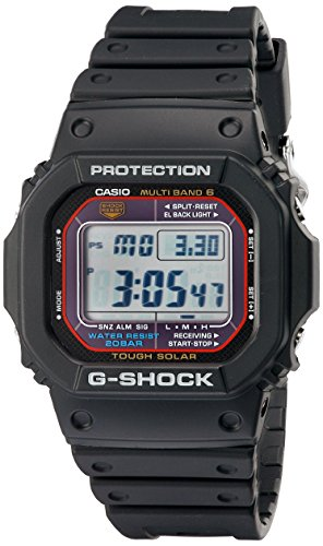 Casio watches Casio Men's G-SHOCK Quartz Watch with Resin Strap, Black, 20 (Model: GWM5610-1)