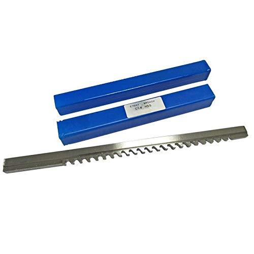 WNJ-Tool, HSS 6mm C1 Push-Tipo chavetero brocha de tamaño m