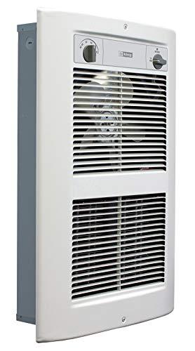 KING LPW2445T-S2-WD-R LPW ComfortCraft Series 2 Wall Heater, 4500W / 240V, White Dove