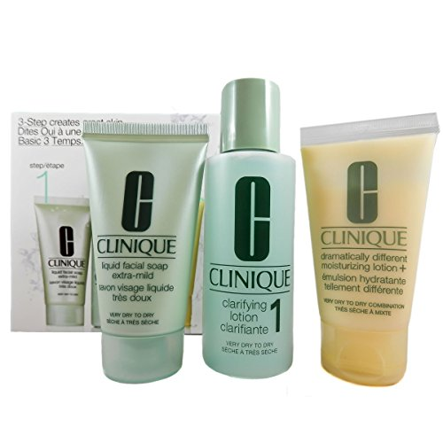 Clinique 3 Step System Starter Set for Skin Type 1 – Set para piel seca