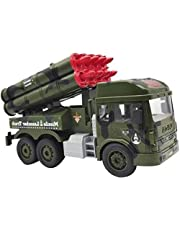 TOTTA Army Missile Launcher Truck Toy Big for Boys Girls & Kids