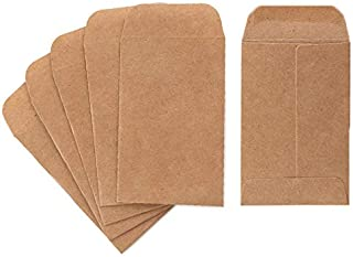 """Coin And Small Parts Envelopes 500 Pack 2.25""""x 3.5"""" With Gummed Flap For Homes And Office Use (500 Pack)"""