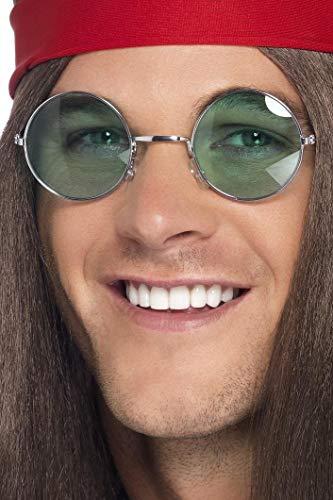 Smiffys Occhiali da Hippie, lenti con colori assortiti
