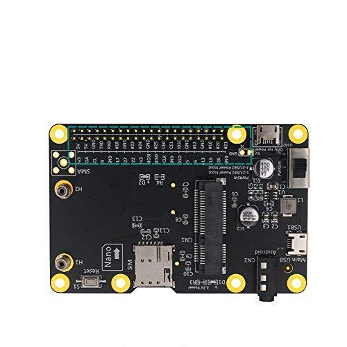 3G/4G - LTE Base Hat pour Raspberry/ASUS Tinker Board/Samsung ARTIK /Rock64 Media/Liber Computer Board