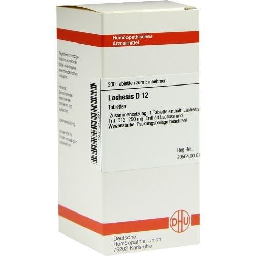 LACHESIS D12 200St Tabletten PZN:2102911