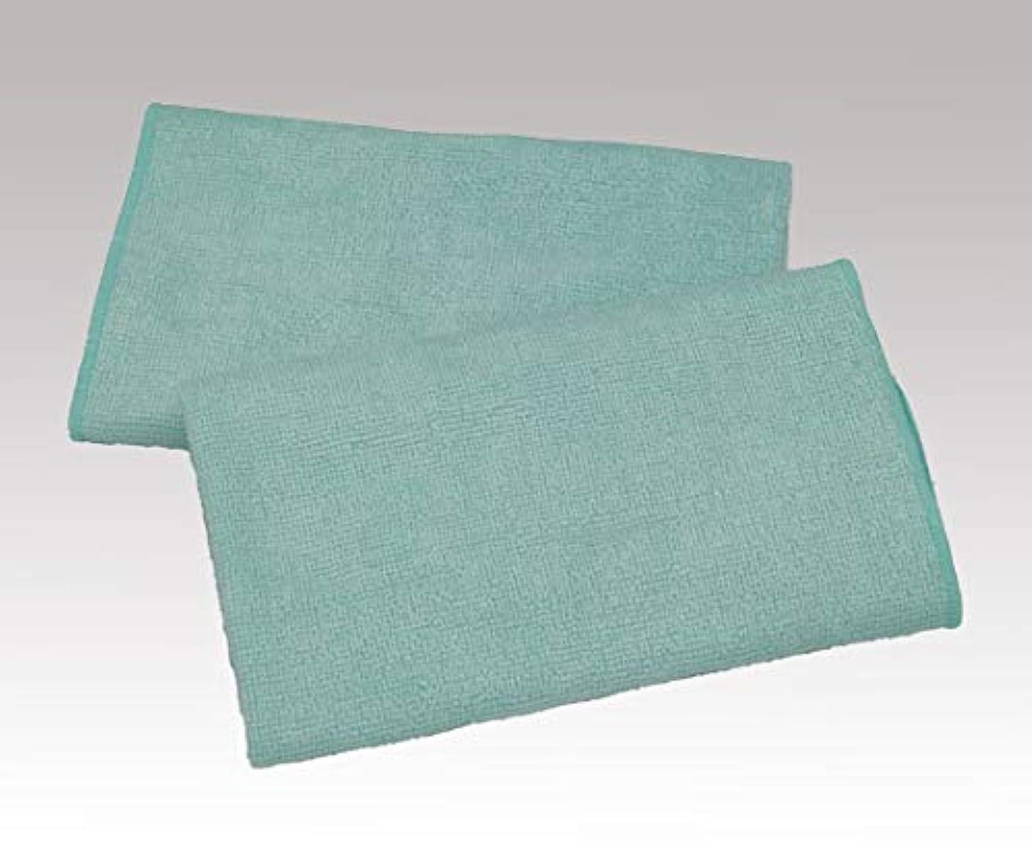 負天才遅いダブル織りタオル 清拭タオル