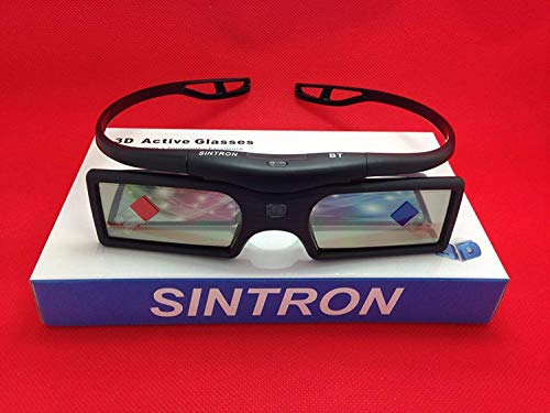 [Sintron] 2X 3D RF Glasses for Sony Panasonic Samsung 3D TV, Compatible with TDG-BT500A TDG-BT400A SSG-5100GB TY-ER3D4MU…