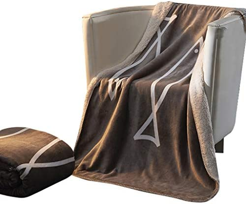 LIQIN Couvertures Couverture Double Flanelle Chaude Hiver Double Couette Siesta Double épaississement, Peau Douce, Lavable (Size : 100 * 150cm)