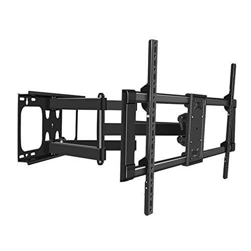 Soporte de Pared para TV Universal 55- 100 pulgadas TV LCD TV Telescópico Montaje de pared de pared giratorio Ultra Slim LCD Soporte de montaje en pared, inclinación y soporte de TV giratorio