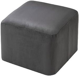 CV Möbelhocker Sitzwürfel Cube ALKA anthrazit 40 x 50 x 50 cm