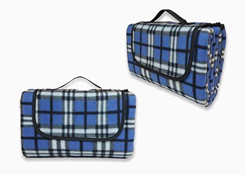 TETI'S DUCKS Home Picknickdecke, wasserdicht, faltbar, 120 x 150 cm, für Konzerte, Camping, Strand, Park, feuchtigkeitsbeständig.