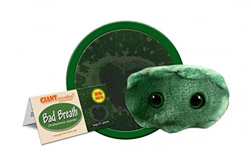 GIANTmicrobes Bad Breath (Porphyromonas gingivalis) Plush Toy