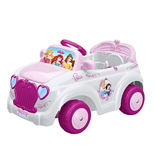 FEBER Famosa 800010252 - Princess - Elektro-Spielzeugauto, für Mädchen 18 Monate bis 5 Jahre, 6V, rosa