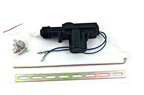 Universal KFZ ZV Zentralverriegelung Stellmotor 2-polig Kofferraum Heckklappe + Zubehör