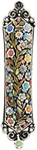 Michal Golan. Mezuzah in Dark Floral