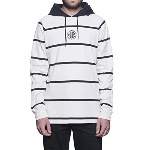 HUF Transit Long Sleeve Knit Top Long Sleeve T-Shirt Small Birch