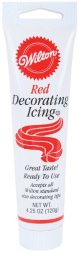 Wilton Red Icing Tube