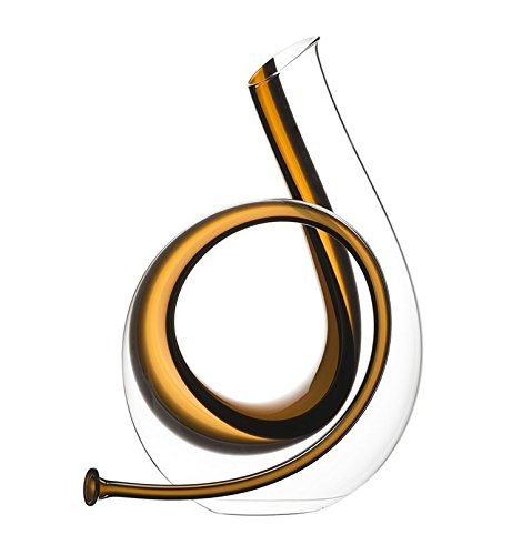 Riedel 2014/02 Horn Decanter, 88 oz, Yellow