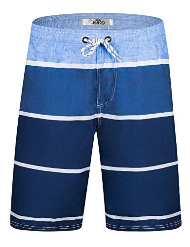 Beach Wear Herren Badehose Freizeit Short Schnelltrocknend Badeshorts EHS006-M