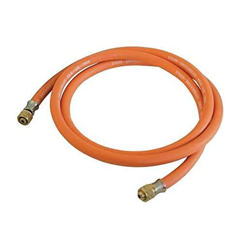 Silverline 522597 Gasschlauch 5 m, orange